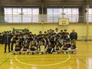 バスケットボール部(男子) 新人戦西部支部予選 第3位