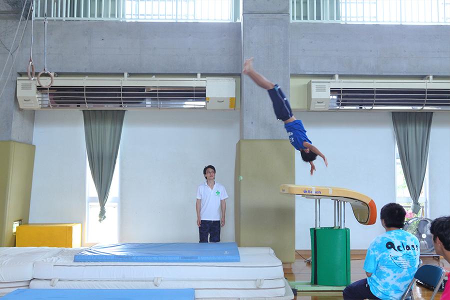 体操競技部の写真