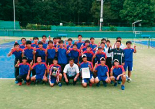 ソフトテニス部(男子)の写真