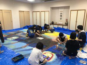 文芸部「日本一のジャンボ絵馬」制作がスタートしました!