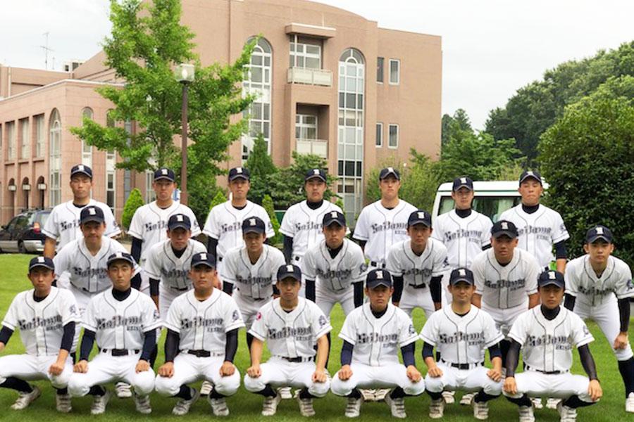 硬式野球部の写真