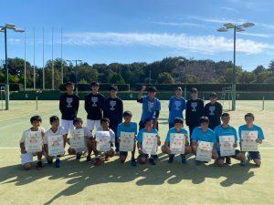 硬式テニス部 令和2年度埼玉県高等学校新人大会テニス競技団体戦(男子)結果