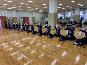 剣道部 クラブ見学会を実施しました