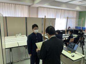 12/23 on line 終業式 日本語検定1級合格表彰 他