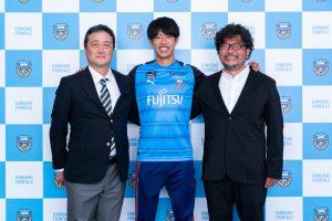 卒業生・佐々木 旭さんがJリーグ・川崎フロンターレに加入内定しました!