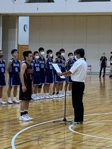 男子バスケットボール部 インターハイ埼玉県予選