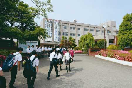 登校の写真