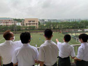 上級学校訪問が行われました。